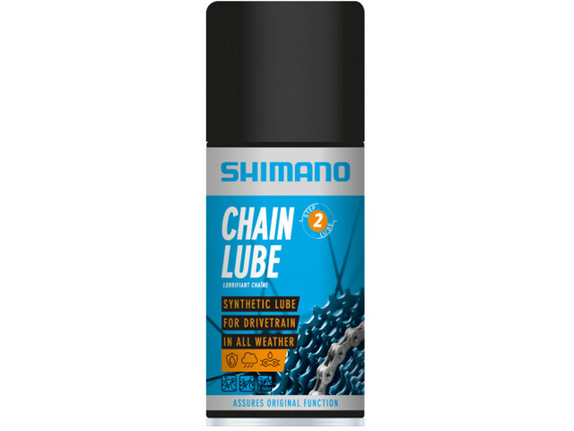 Shimano Spray lubrifiant pour chaîne 125ml